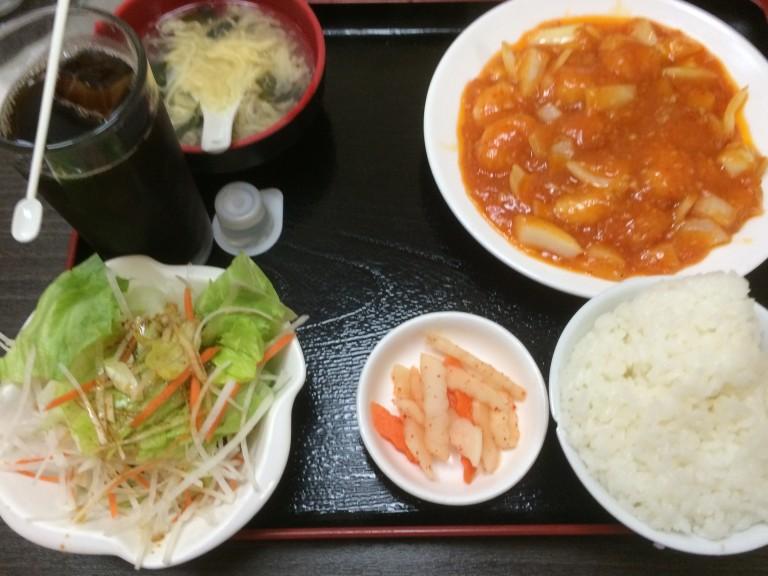 【金龍美食】580円ランチ!安いお腹いっぱい!熊本田崎
