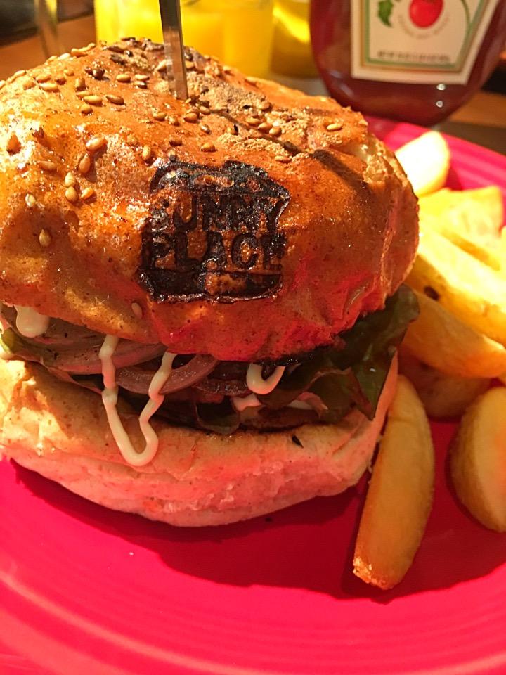【サニープレイス】熊本健軍カフェ!ハンバーガーうまっ@メニュー