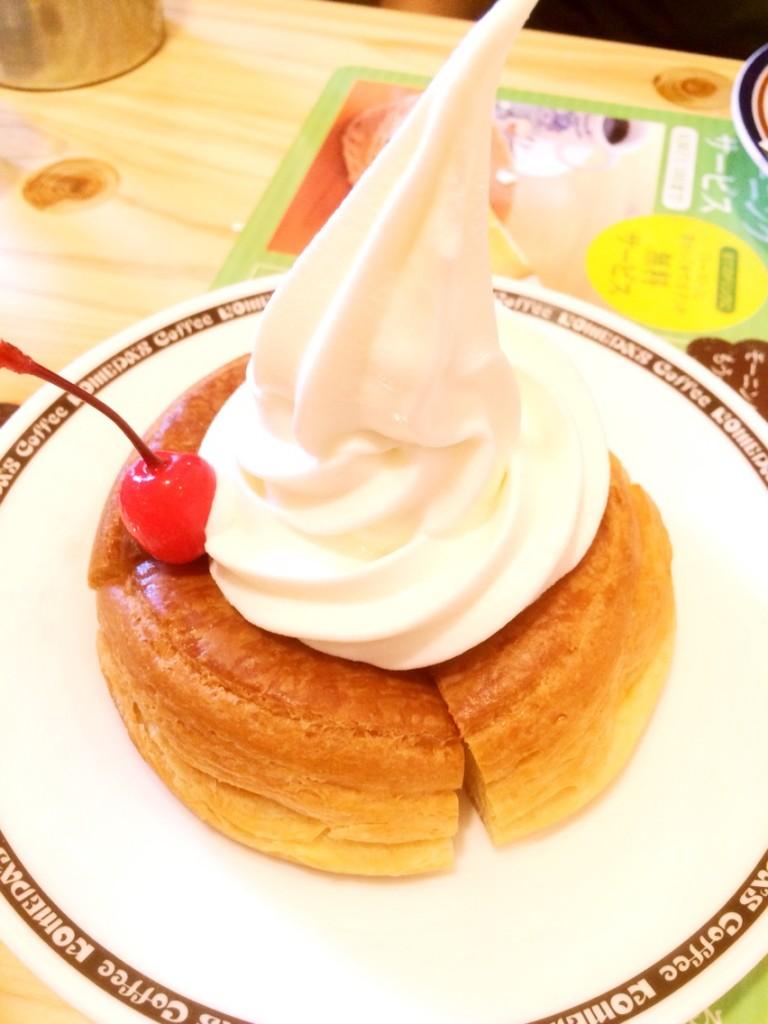 【熊本田崎コメダ珈琲】サンドでかっ!モーニングは無料でパンがついてくる
