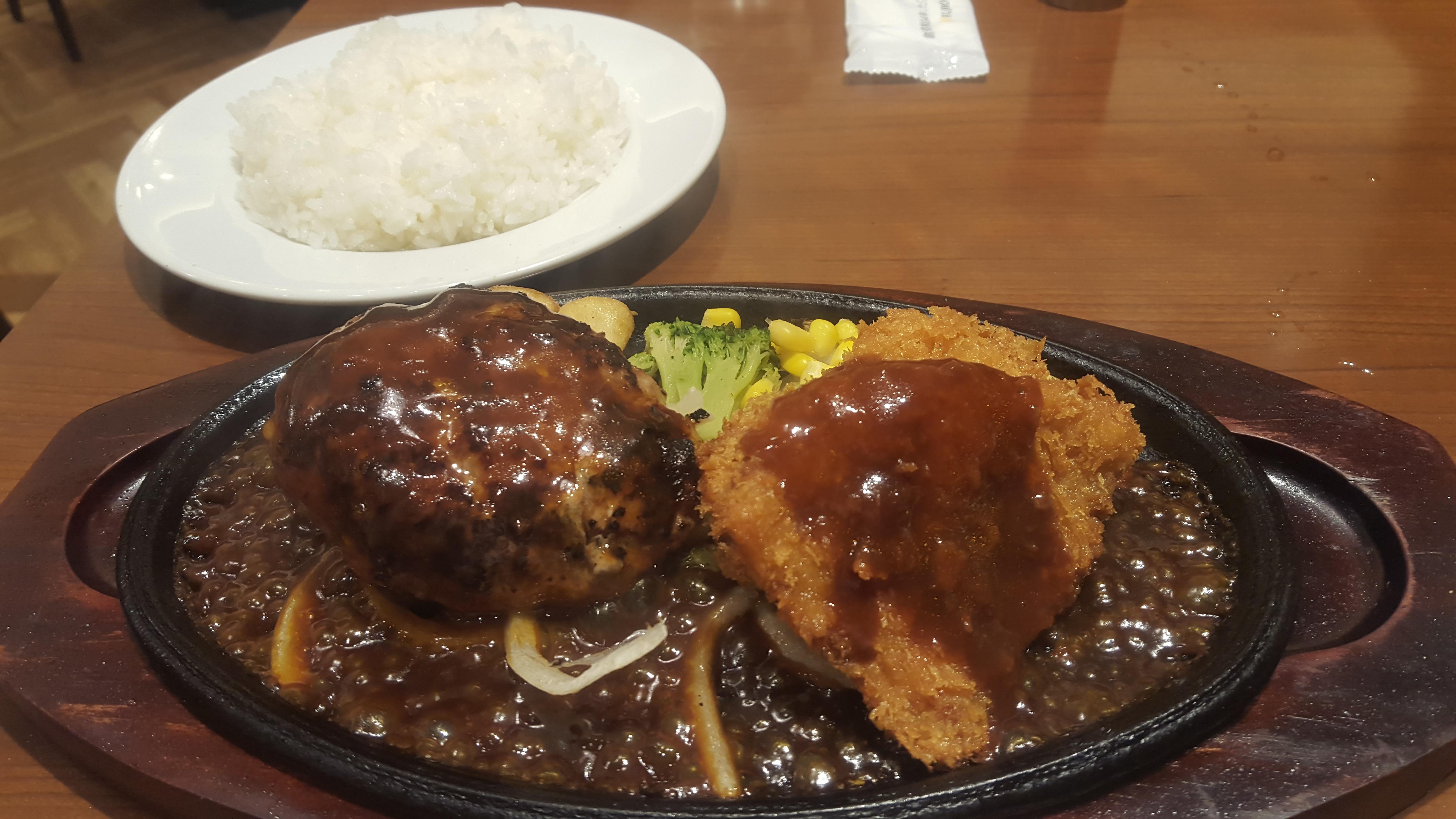 【フジオ軒】熊本クレア内にある洋食店!ハンバーグ~