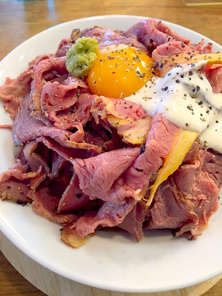 【ビーフ食堂】熊本でランチ@ローストビーフ丼食べた&メニュー紹介