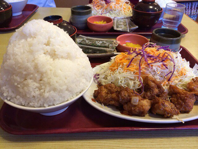 【どんじゅう】熊本御領「ご飯大盛りが凄すぎ!」満腹になる店