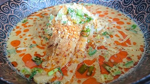 【坦々麺 やまきん】熊本駕町通りにある美味しい坦々麺750円~