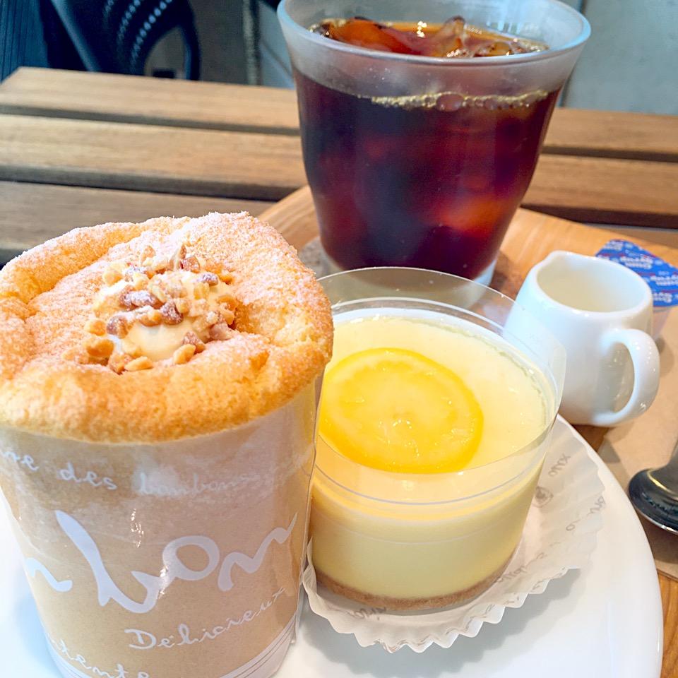 【橘家ベイクショップ】南熊本の~焼き菓子店~レモンチーズケーキうま