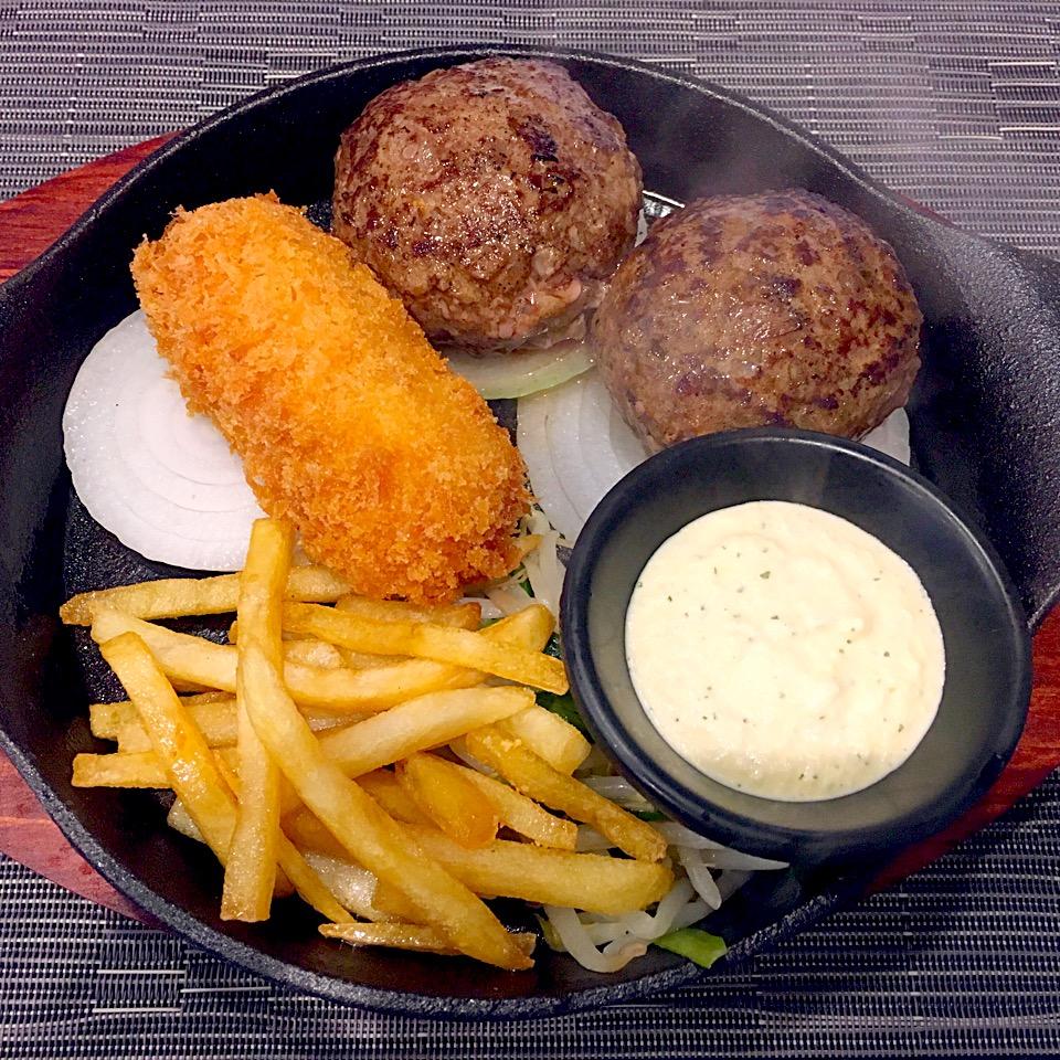 【zi:l (ジール)】熊本ハンバーグ専門店!19・29日は肉の日@メニュー
