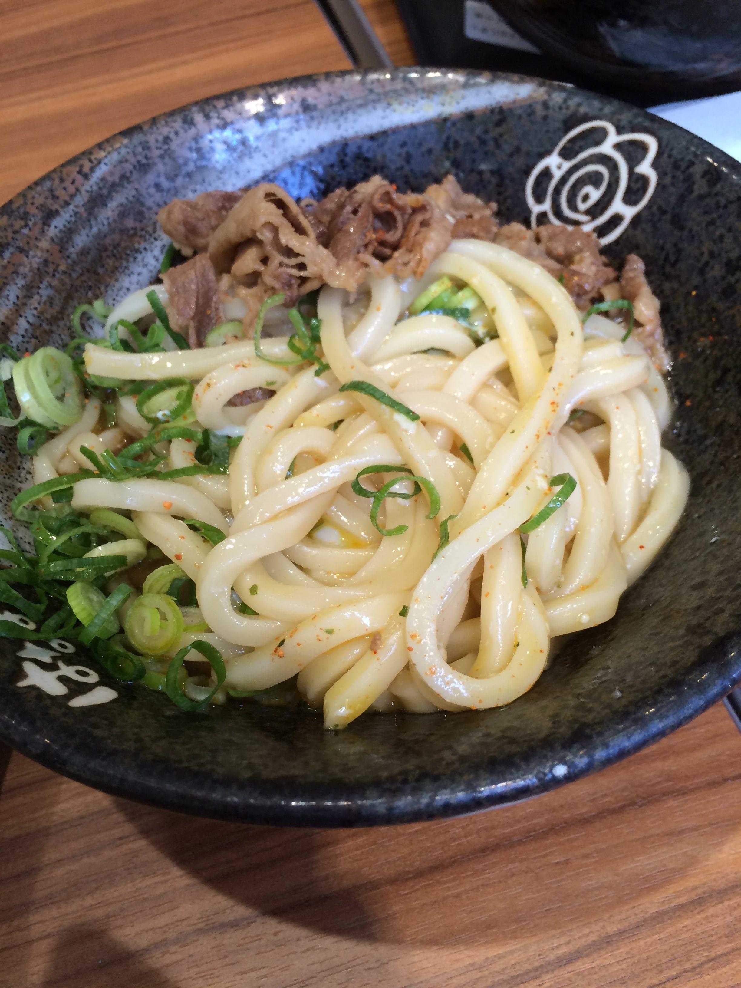 【はなまるうどん】熊本下通りで130円~讃岐うどんが食べれる@メニュー