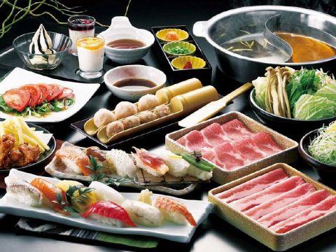 【ゆず庵】西熊本!寿司・しゃぶしゃぶ食べ放題2680円~行った@メニュー