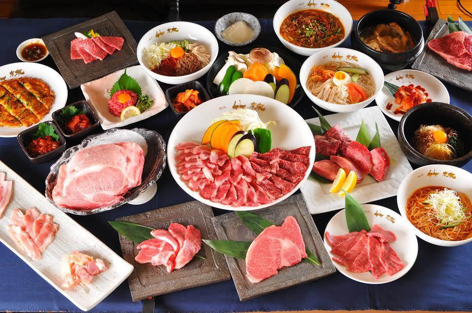 【本格焼肉 竹林】の食べ放題行った@料金/値段・メニュー!