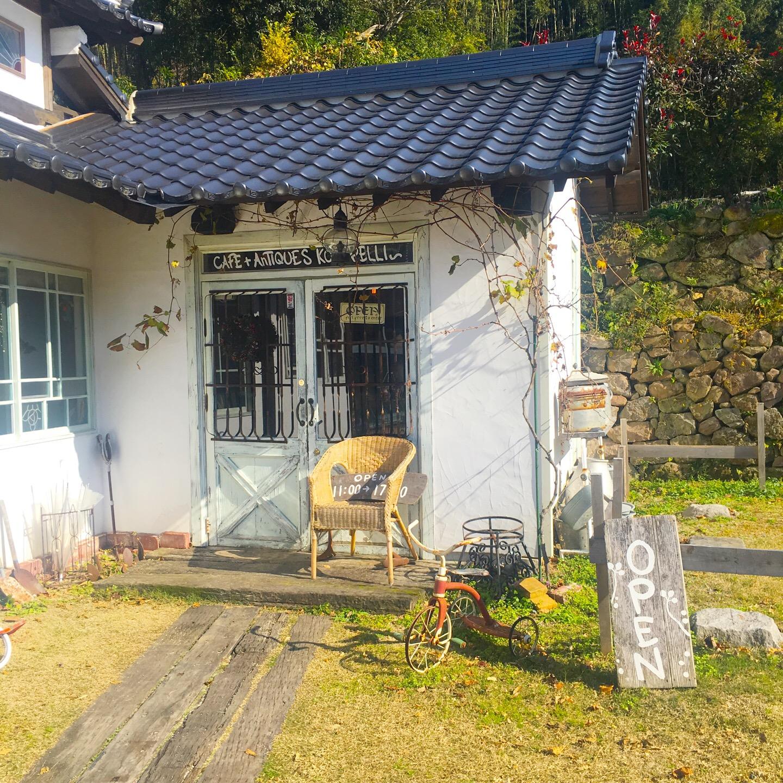 【ココペリ】熊本金峰山にある「古民家カフェ&雑貨!」でランチした