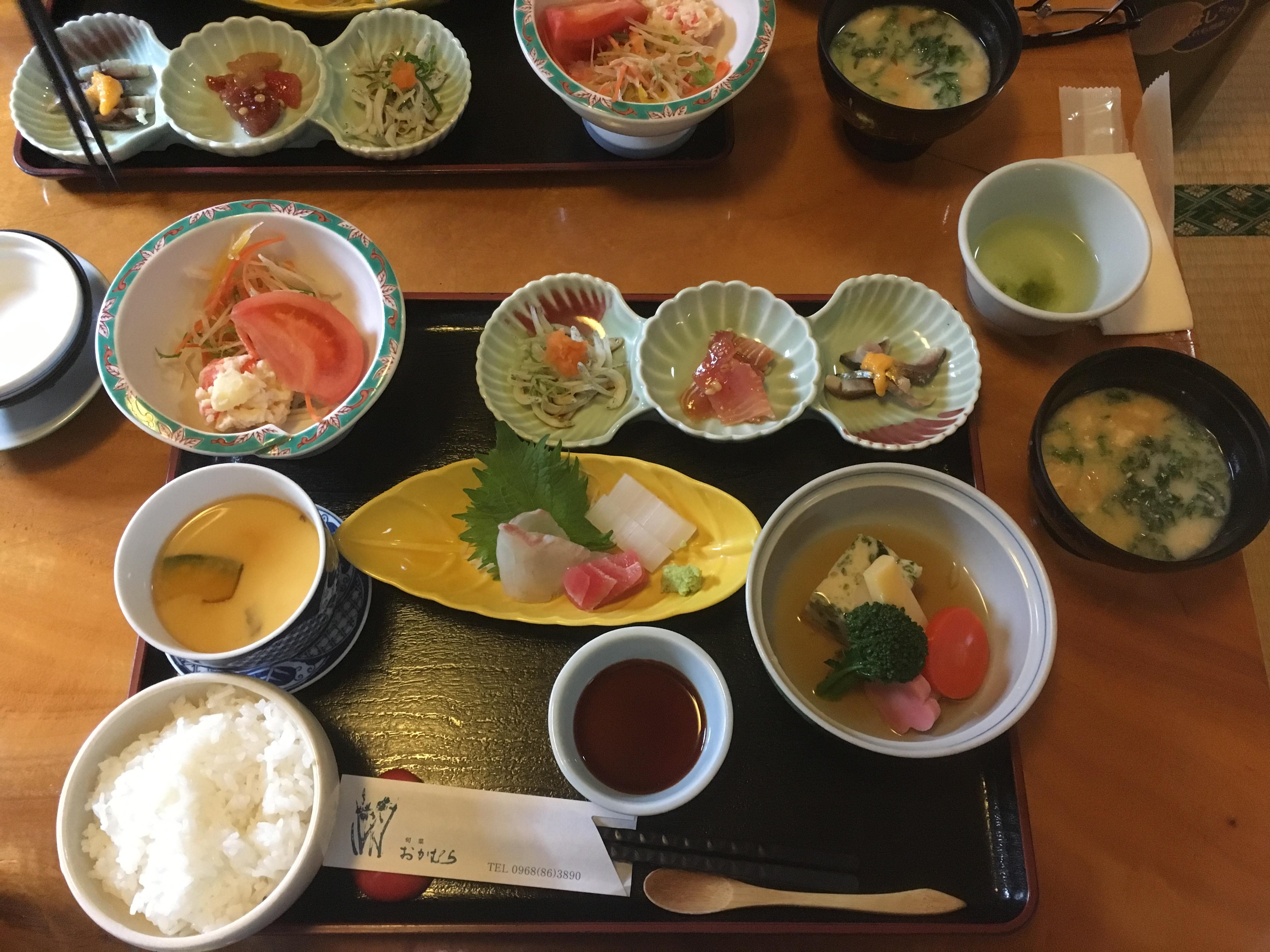 【旬菜おかむら】和水町!まったりランチから宴会利用ができる懐石料理のお店