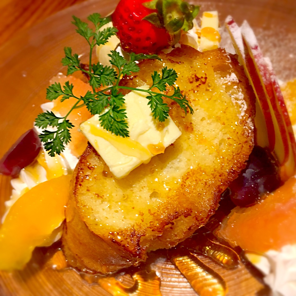 【夜カフェ】長嶺でマジうま!フレンチトースト食べた@メニュー一覧・料金
