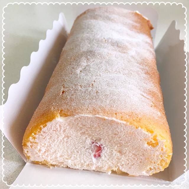 【唐人町のケーキ屋さん】長~い!30cmのロールケーキ980円!が魅力的