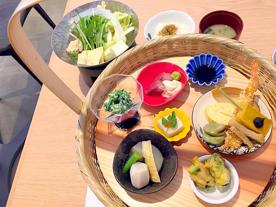 【TENZO】熊本東区!懐石&カフェで、和食ランチした@メニュー