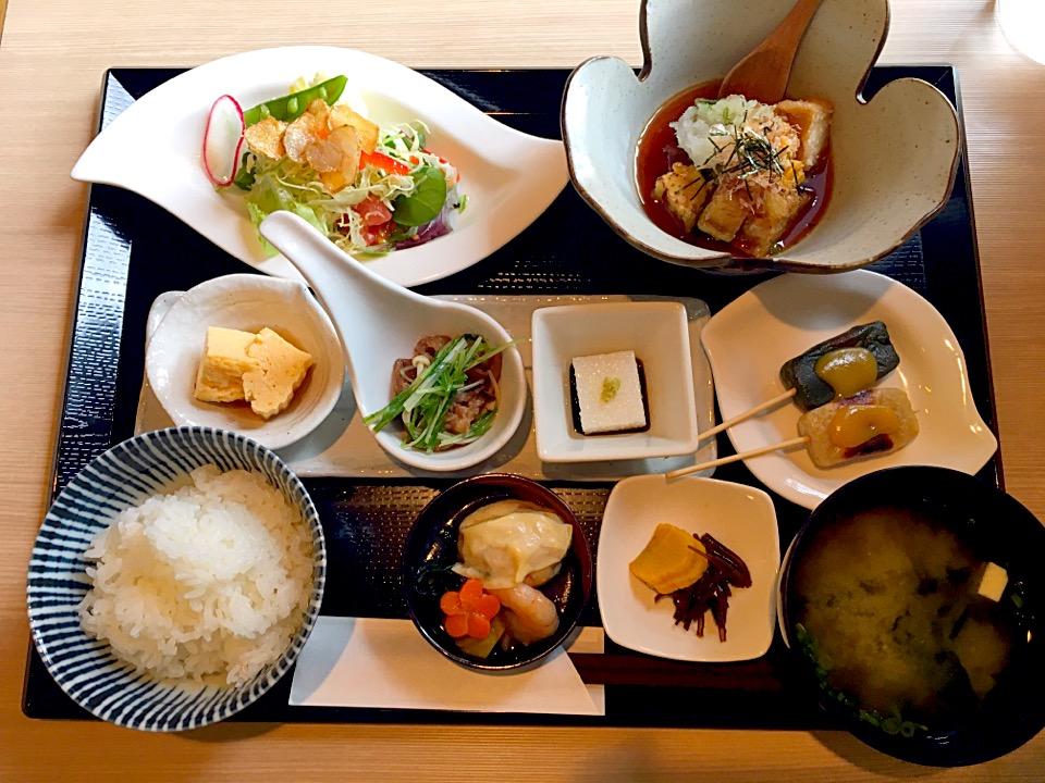 【鎹 (かすがい)】熊本平成で和食ランチ!創作料理が素敵@メニュー
