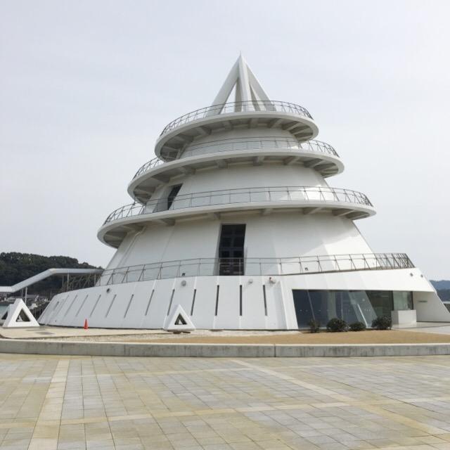 【海のピラミッド】登った!三角東港、展望台からの景色最高じゃん