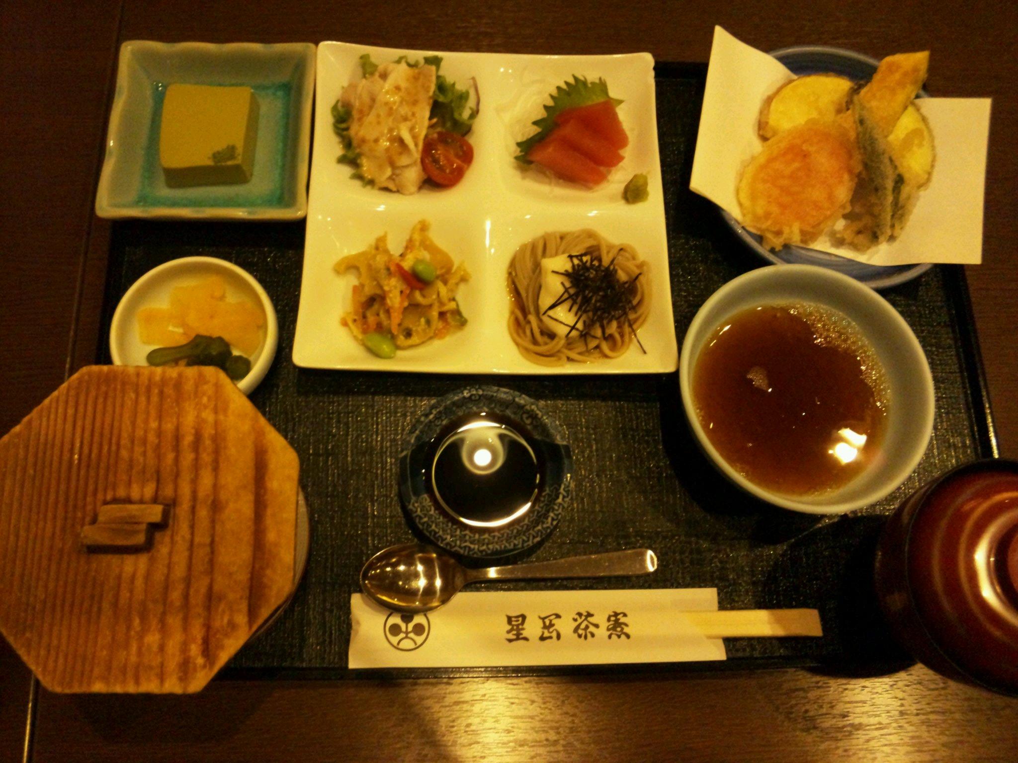 【星ヶ岡茶寮】熊本鶴屋の中にある、手頃な値段の和食のお店