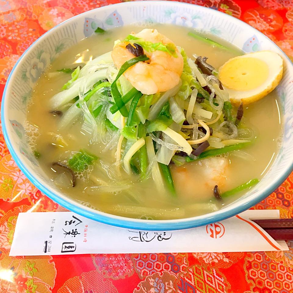 【会楽園】熊本新町にあるタイピーエンの美味しい店