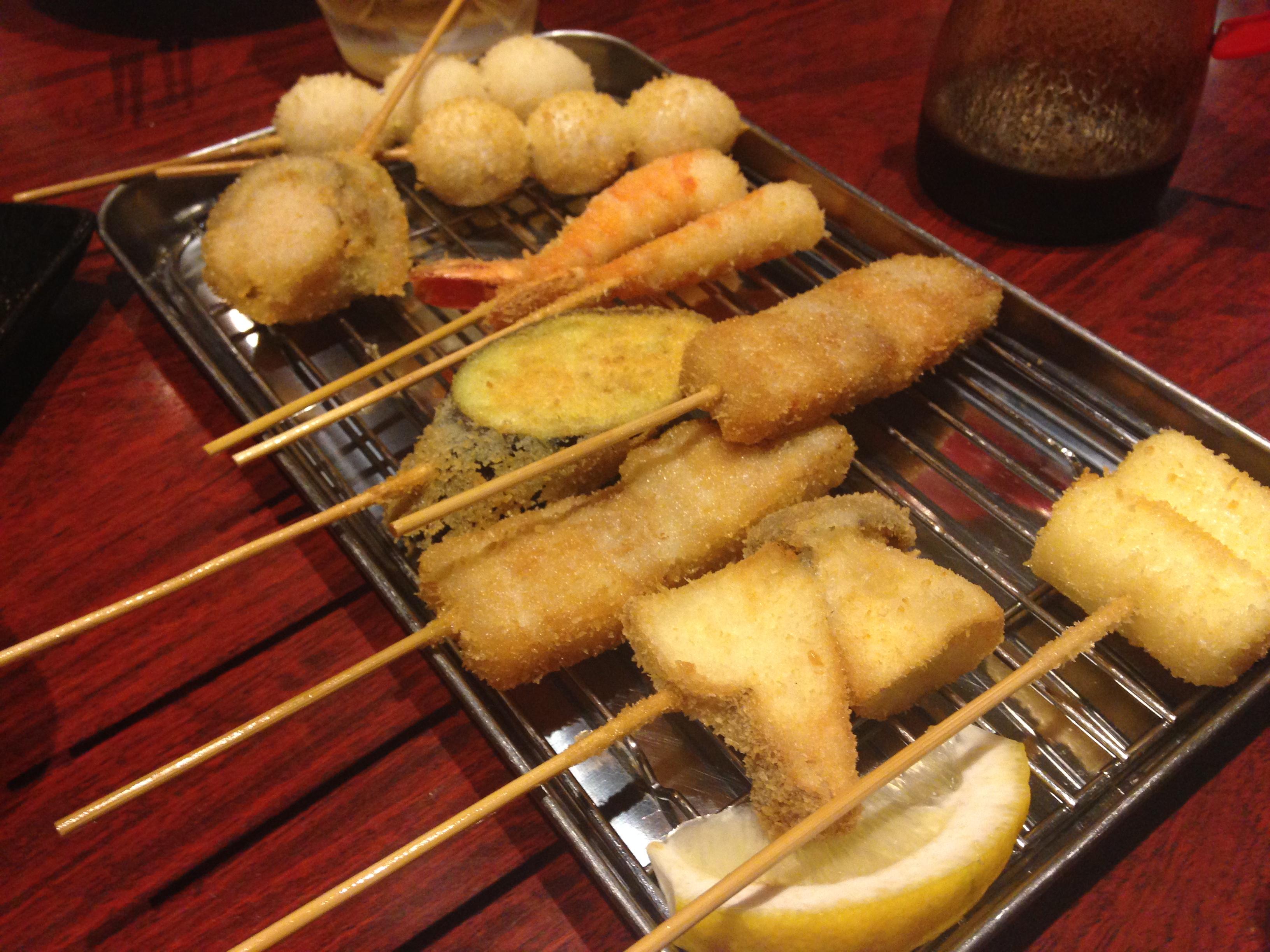 【九丁目酒場 幸村商店】東区の人気居酒屋!串カツを食べるならここで決まり!