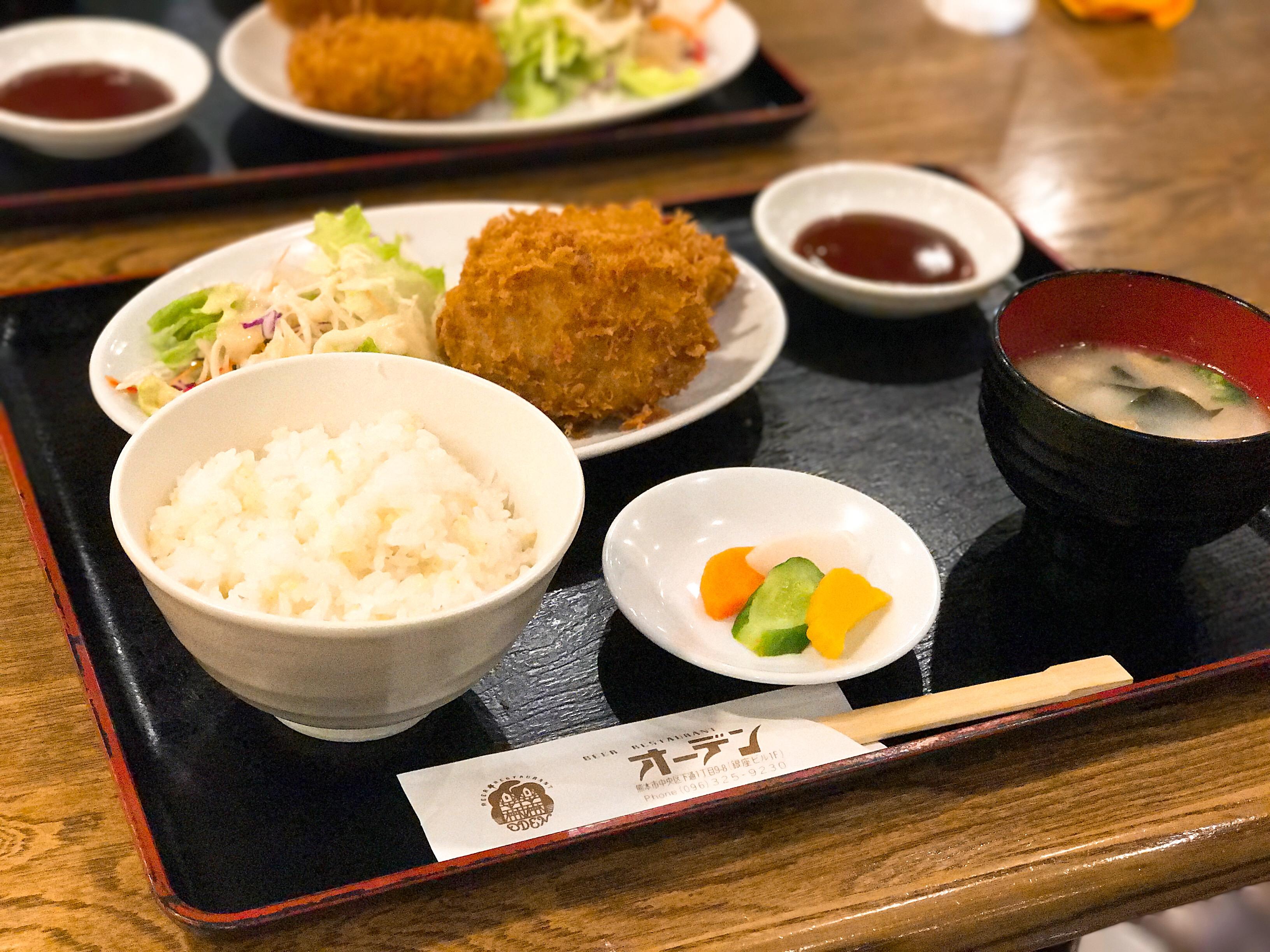 【オーデン】熊本でランチした!ビアレストランで楽しむ@メニュー