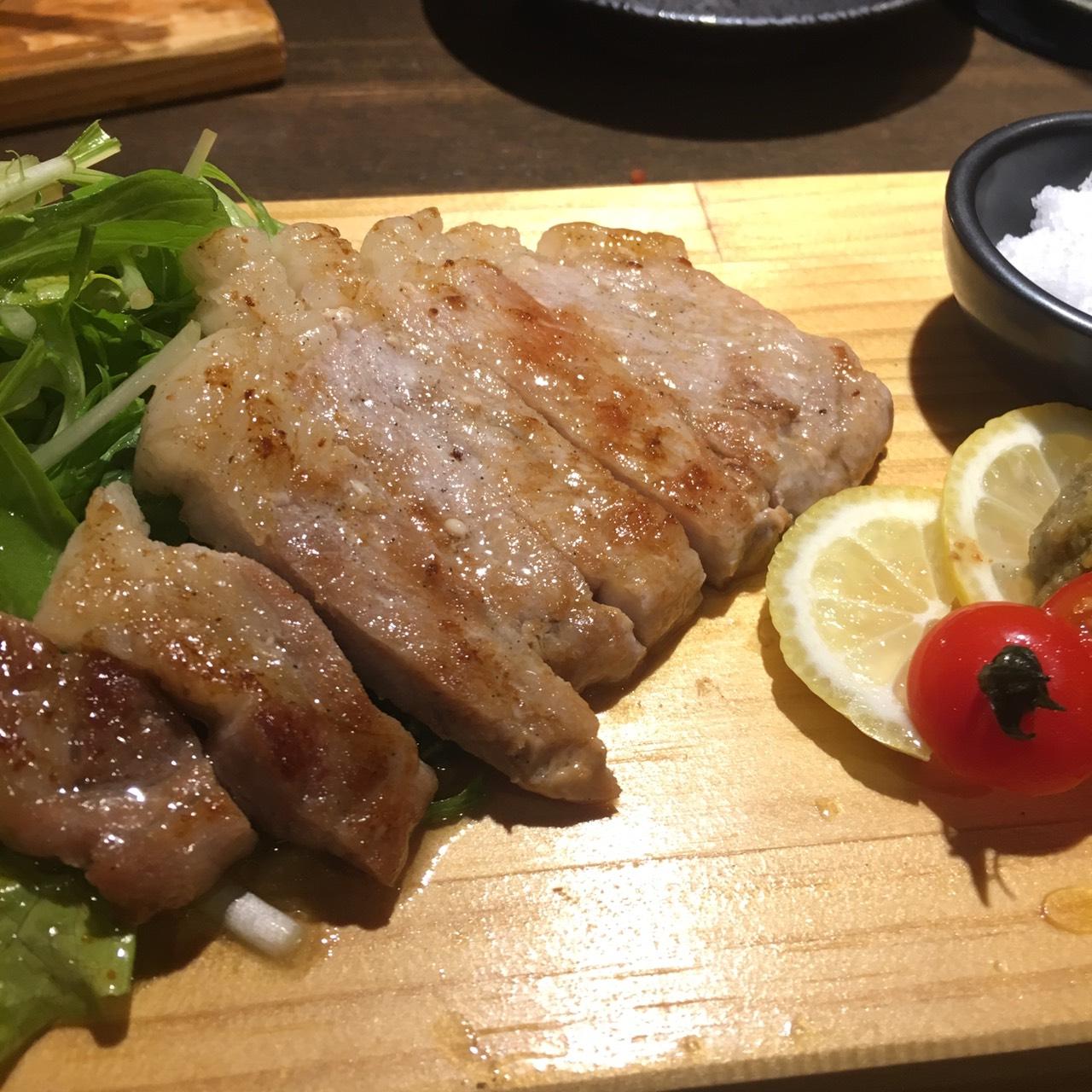 【鉄×馬ダイニングJero】熊本下通りにある、オシャレな鉄板焼き店