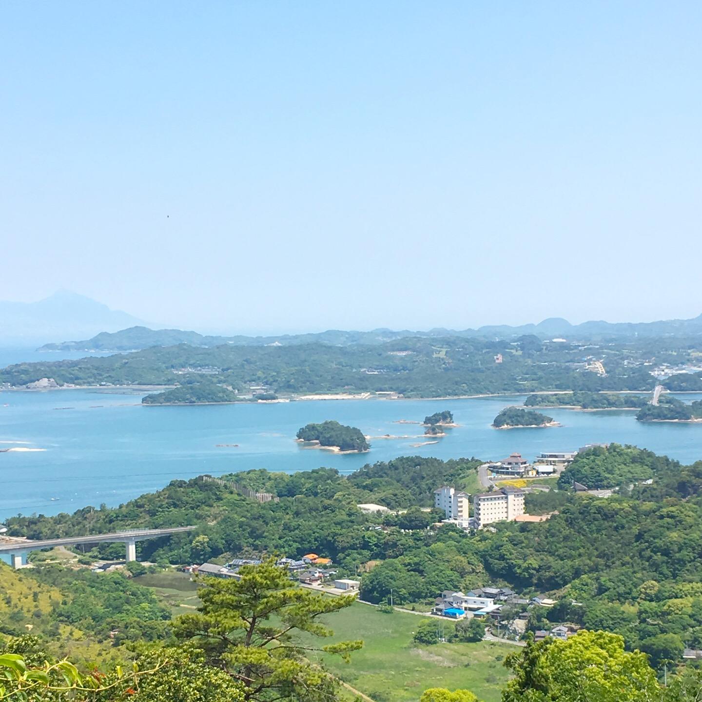 【千巌山(せんがんざん)展望所】天草で眺める、絶景!写真と動画