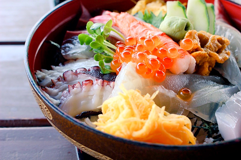 【潮まねき】天草のメニュー!ランチは海の見える場所で海鮮丼