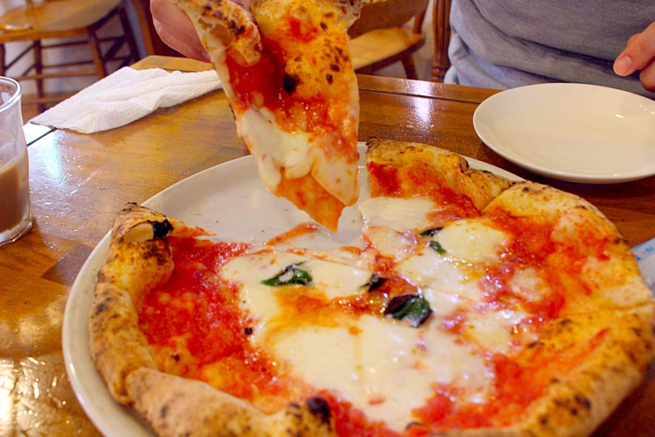 【イルフォルノドーロ】菊池でピザ!マジで絶品マルゲリータ@メニュー