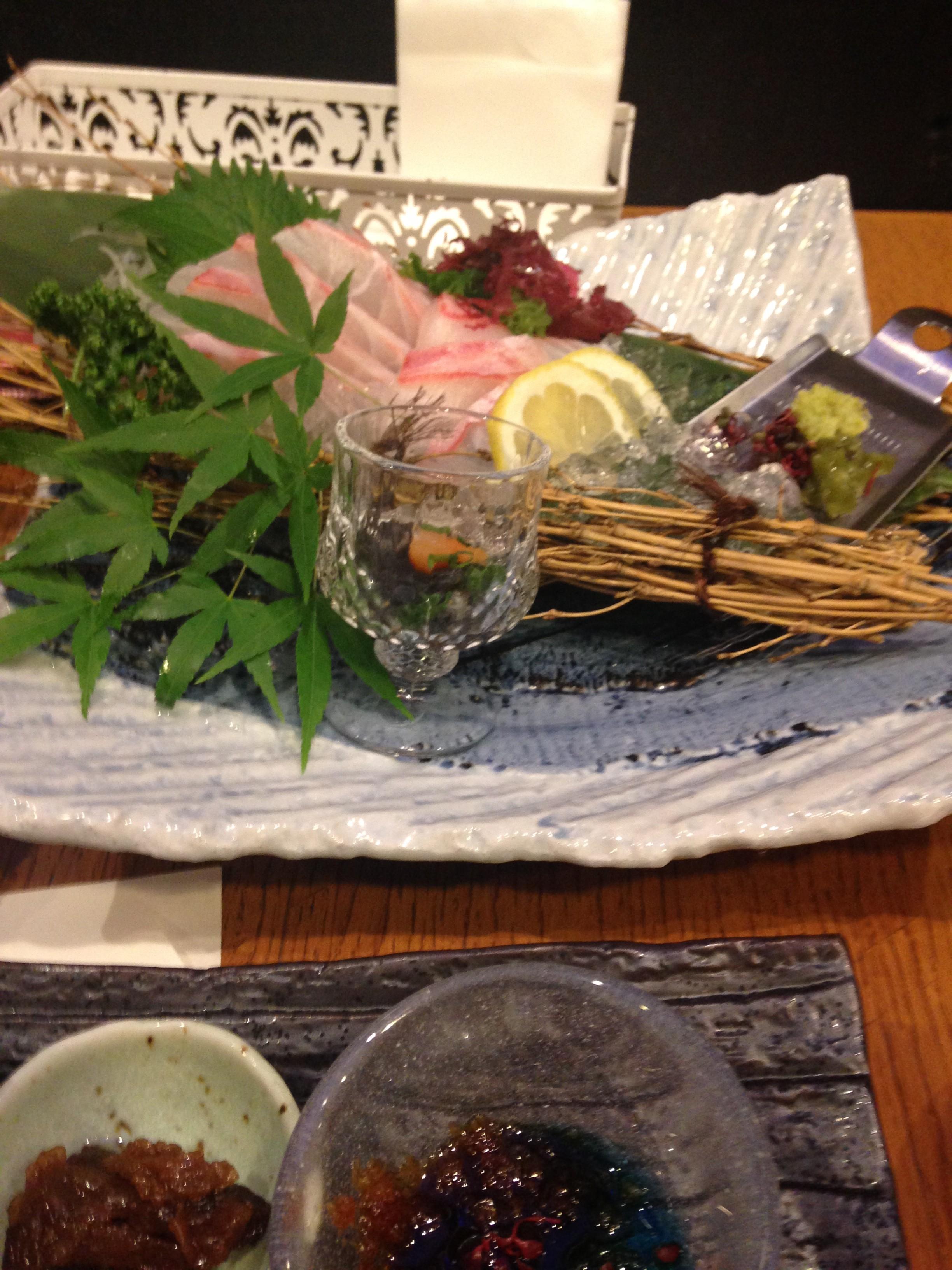 【トルティキッチン310】月出で食べられる阿蘇の赤牛と新鮮な魚!