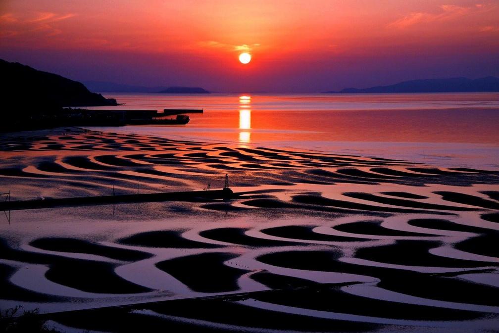 【御輿来海岸】熊本宇土、年に数回しか見られない絶景スポットへ