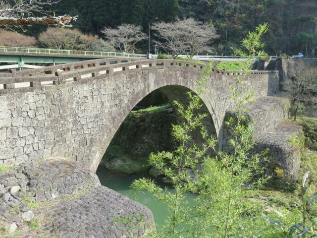【霊台橋(れいだいきょう)】熊本県下益城郡にある、国指定重要文化財