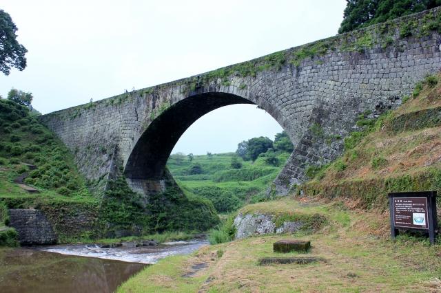 【通潤橋】熊本県山都町!修理中だけど、遠くから見てきた情報