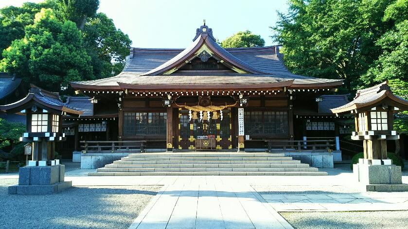 【出水神社】熊本!水前寺に、長寿の水があります。