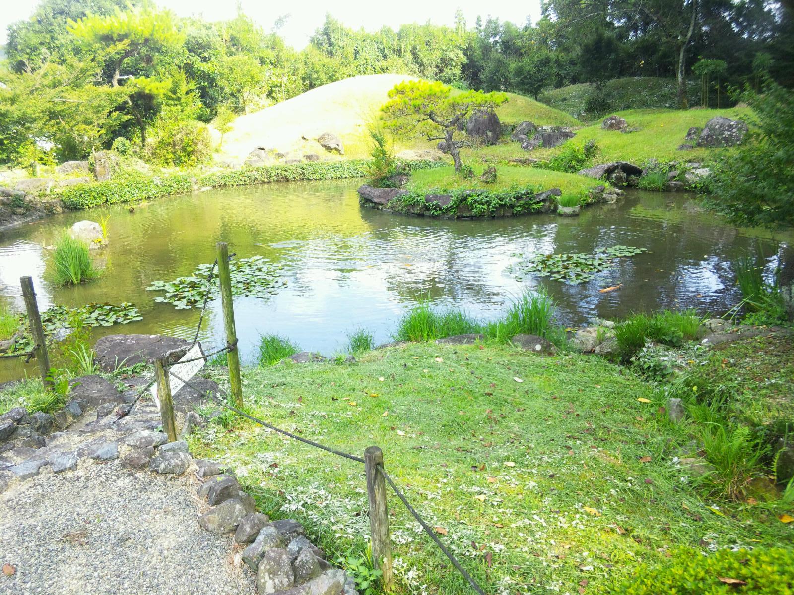 【眺世庵(ちょうせいあん)】御船!歴史上、有名な人たちも訪れてる庭の風景が素敵な所