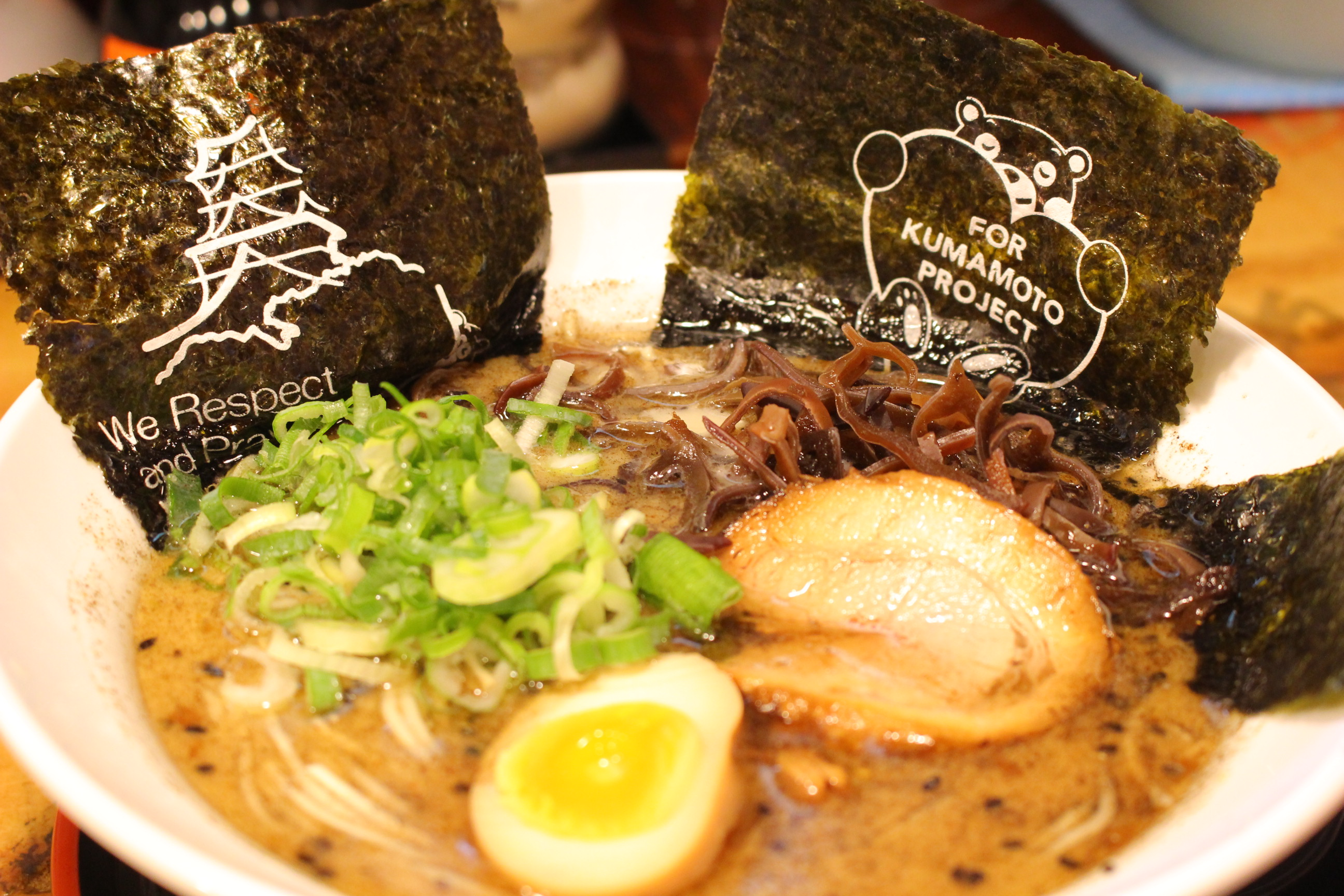 【黒龍紅】熊本ラーメン食べた!駅近く&新市街@メニュー