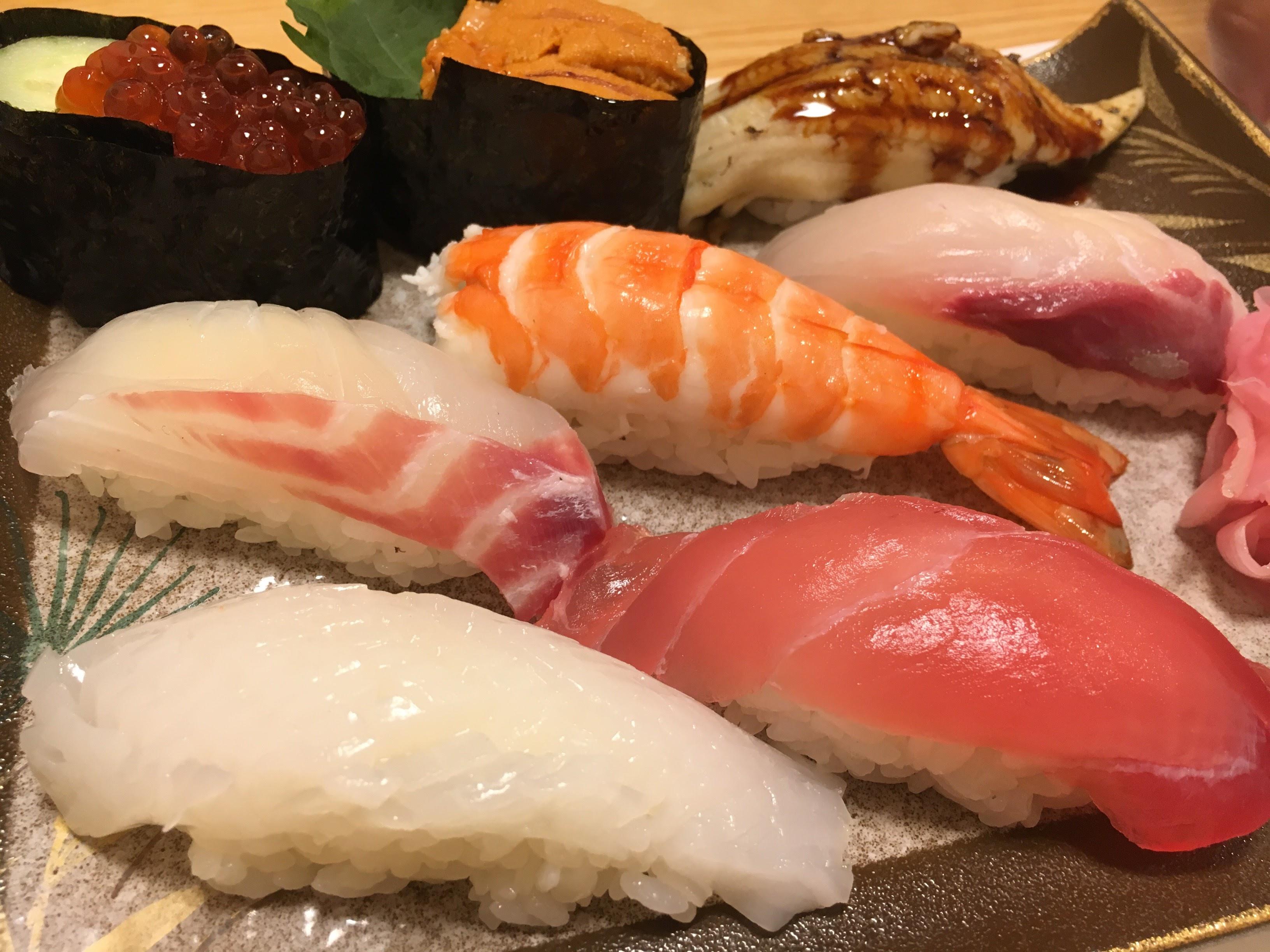 【正六】熊本!お得なランチで高級すし店の味を楽しむ