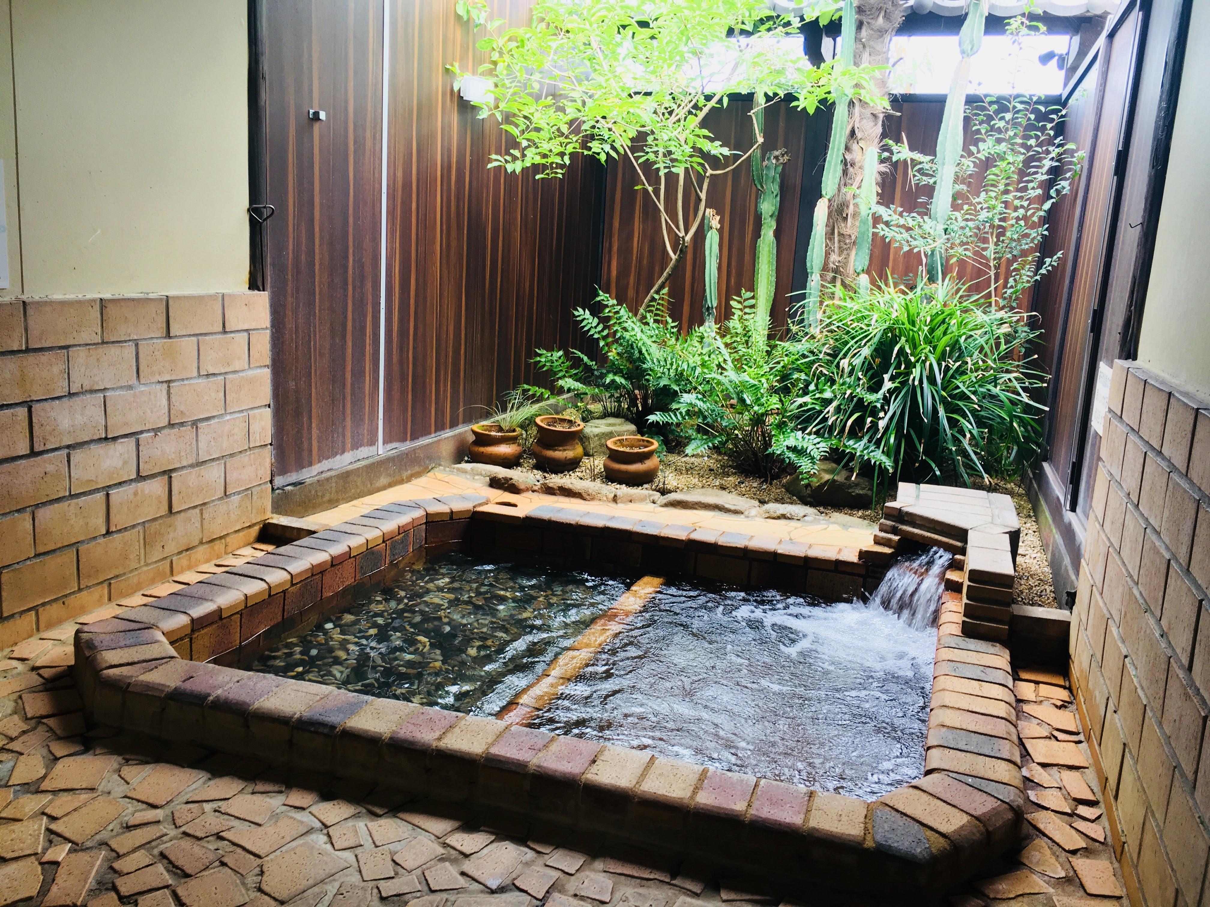 【温泉邸 湯~庵】植木温泉の17種類から選べる充実の家族湯
