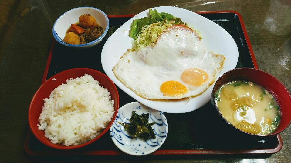 【ふじ屋】熊本!戸島で定食。木曜限定!500円ランチが出来る店