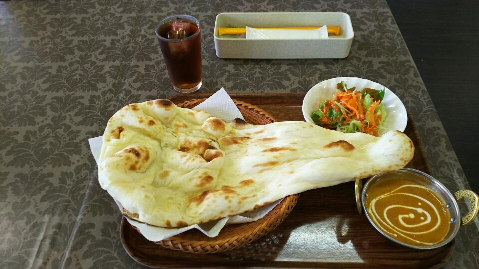【エベレストキッチン】熊本城南町でナン・カレーランチ500円!