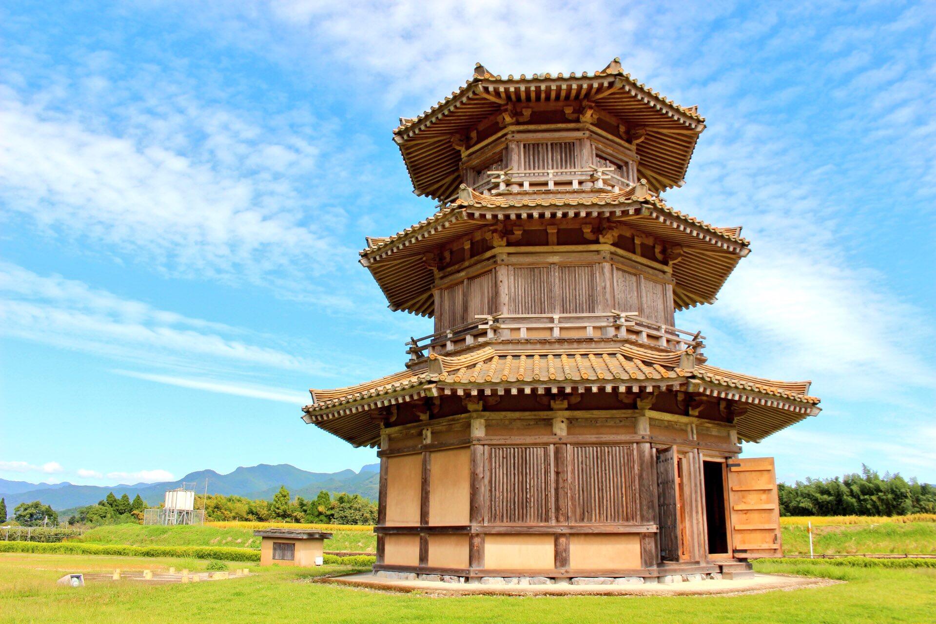 【鞠智城】熊本県山鹿市で、歴史を感じながら一眼レフと一緒に散歩。