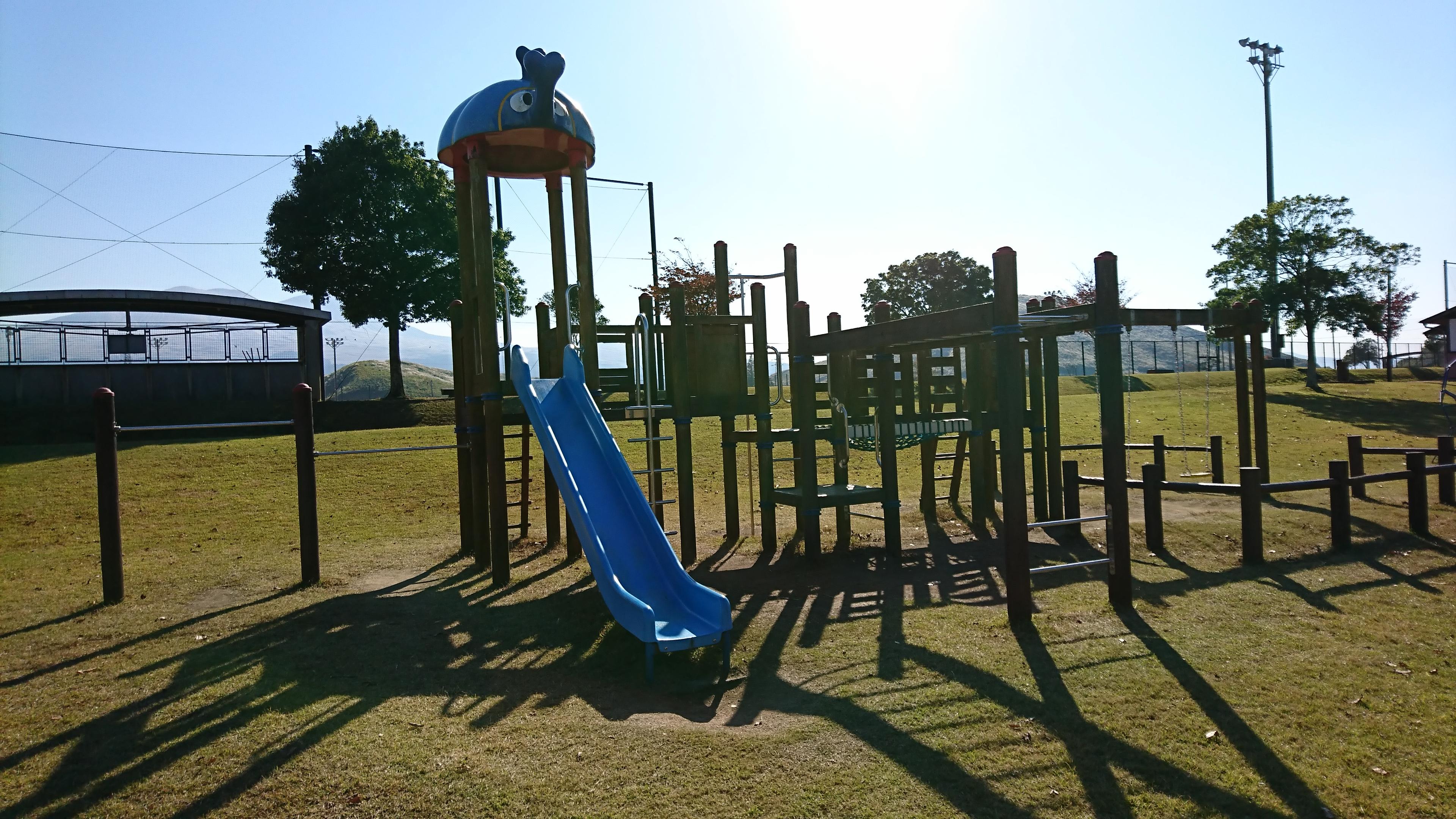 【阿蘇市農村公園あぴか】阿蘇の大自然の中にある運動公園