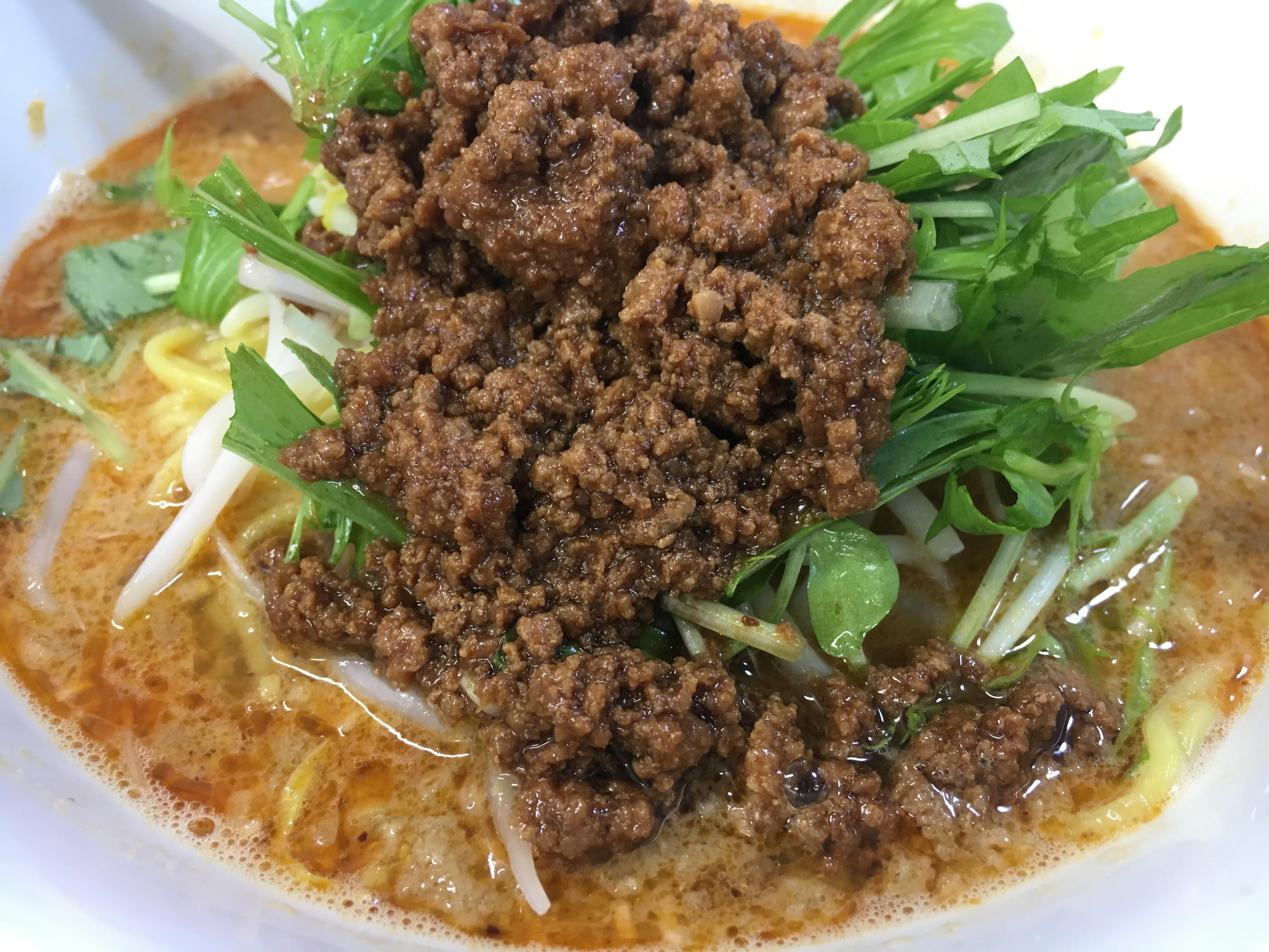 【ささのは流通団地店】あの人気担々麺と絶品からあげが一緒に食べられるお店