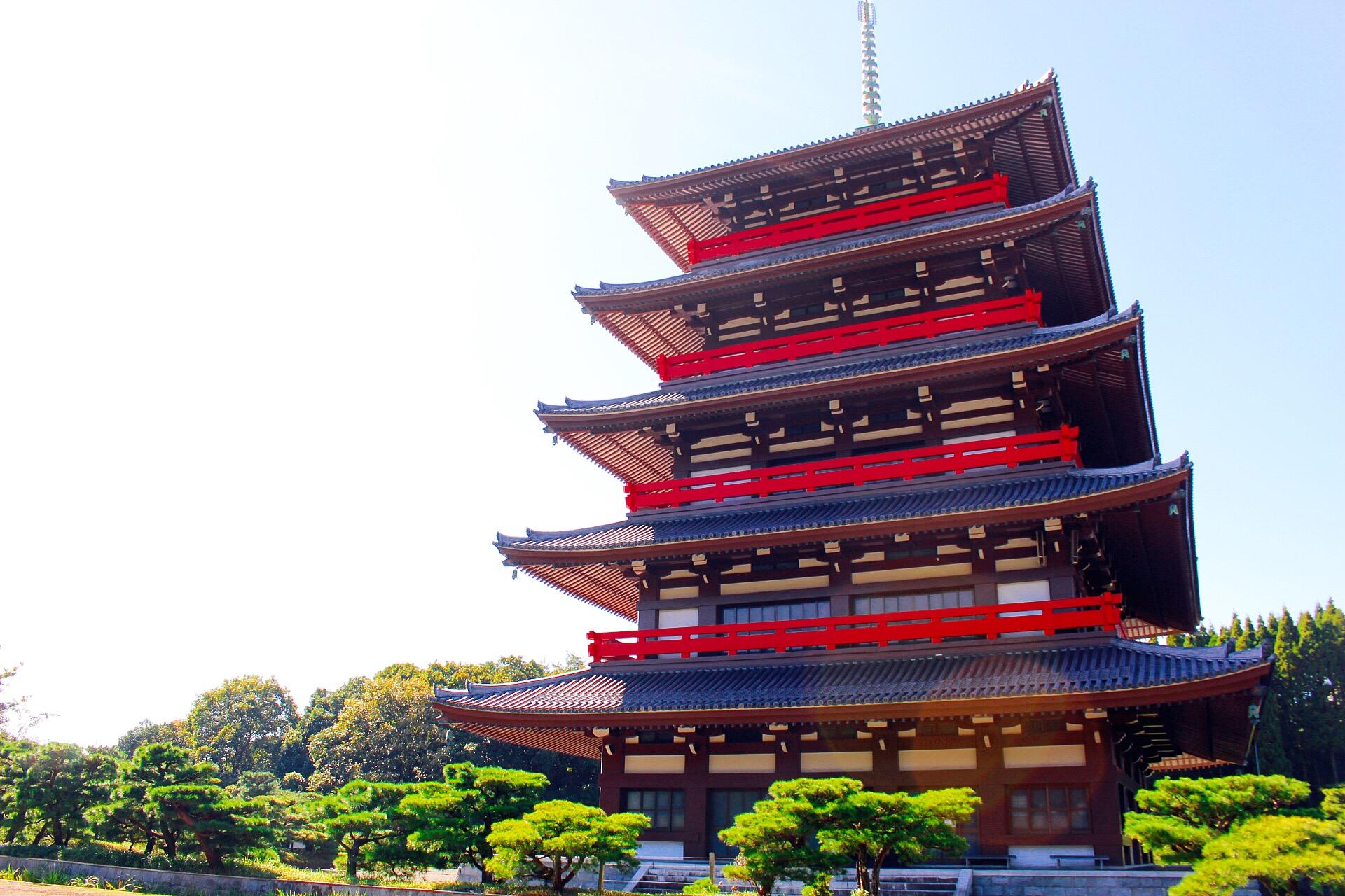 【蓮華院誕生寺奥之院】玉名!五重塔と世界一の梵鐘。いざパワースポットへ