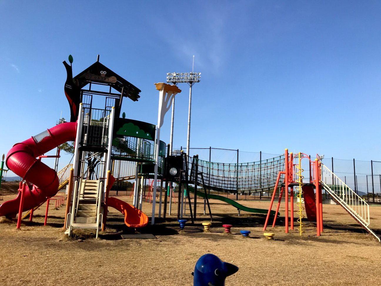 【あそびの原っぱ】嘉島町の公園!イオンからも近くて小さな子におススメ!