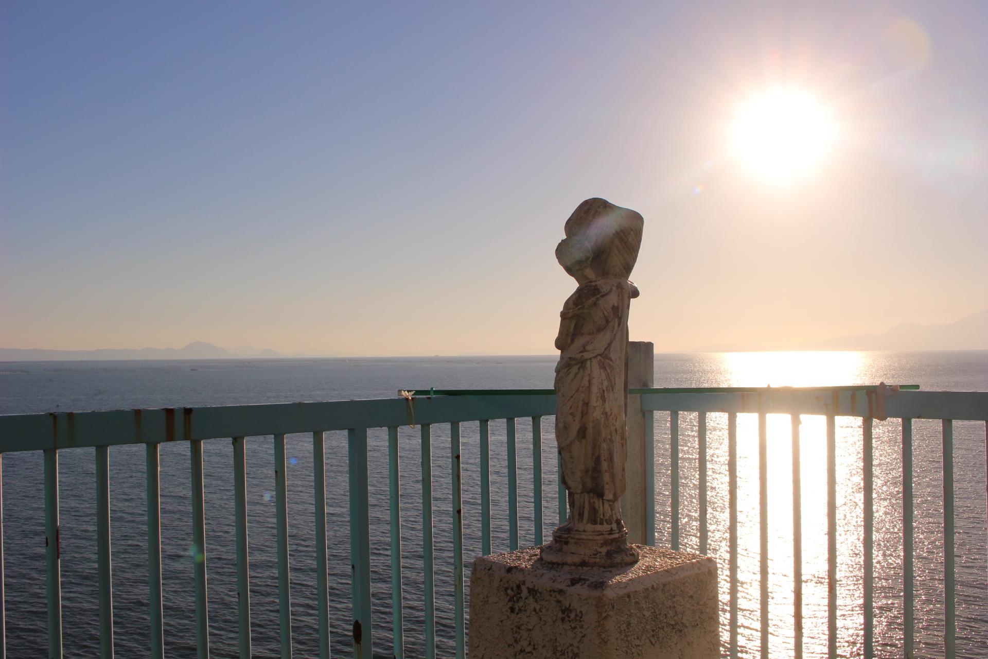 【黎明(れいめい)】熊本、河内のカフェで見る「海と夕焼け」が絶景すぎた