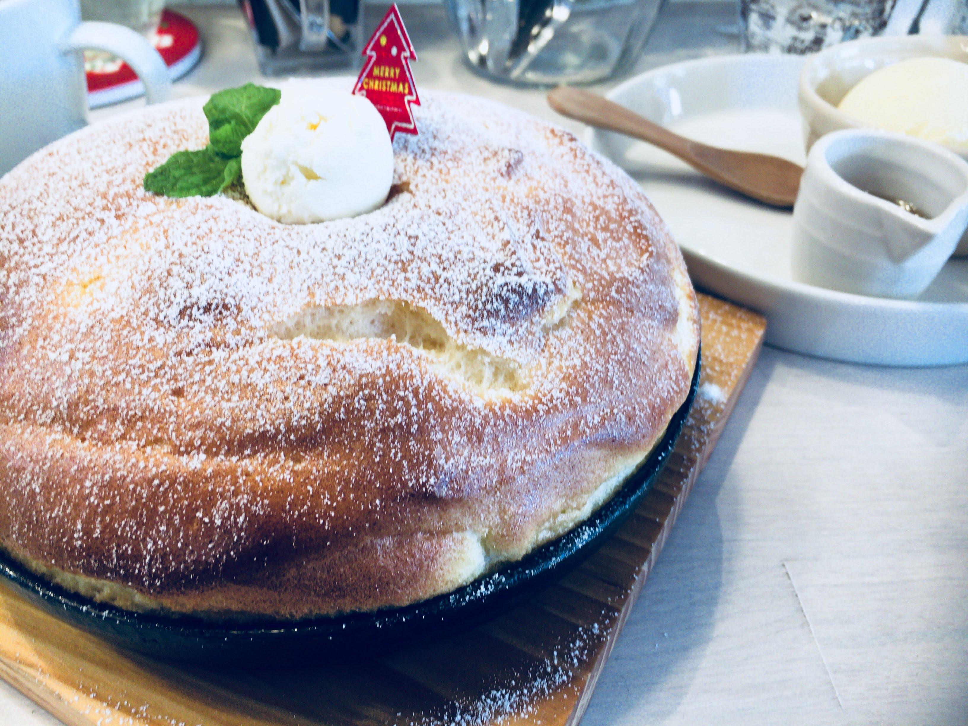 【ブランチカフェミルク】光の森!ふわっふわの新触感パンケーキ@メニュー