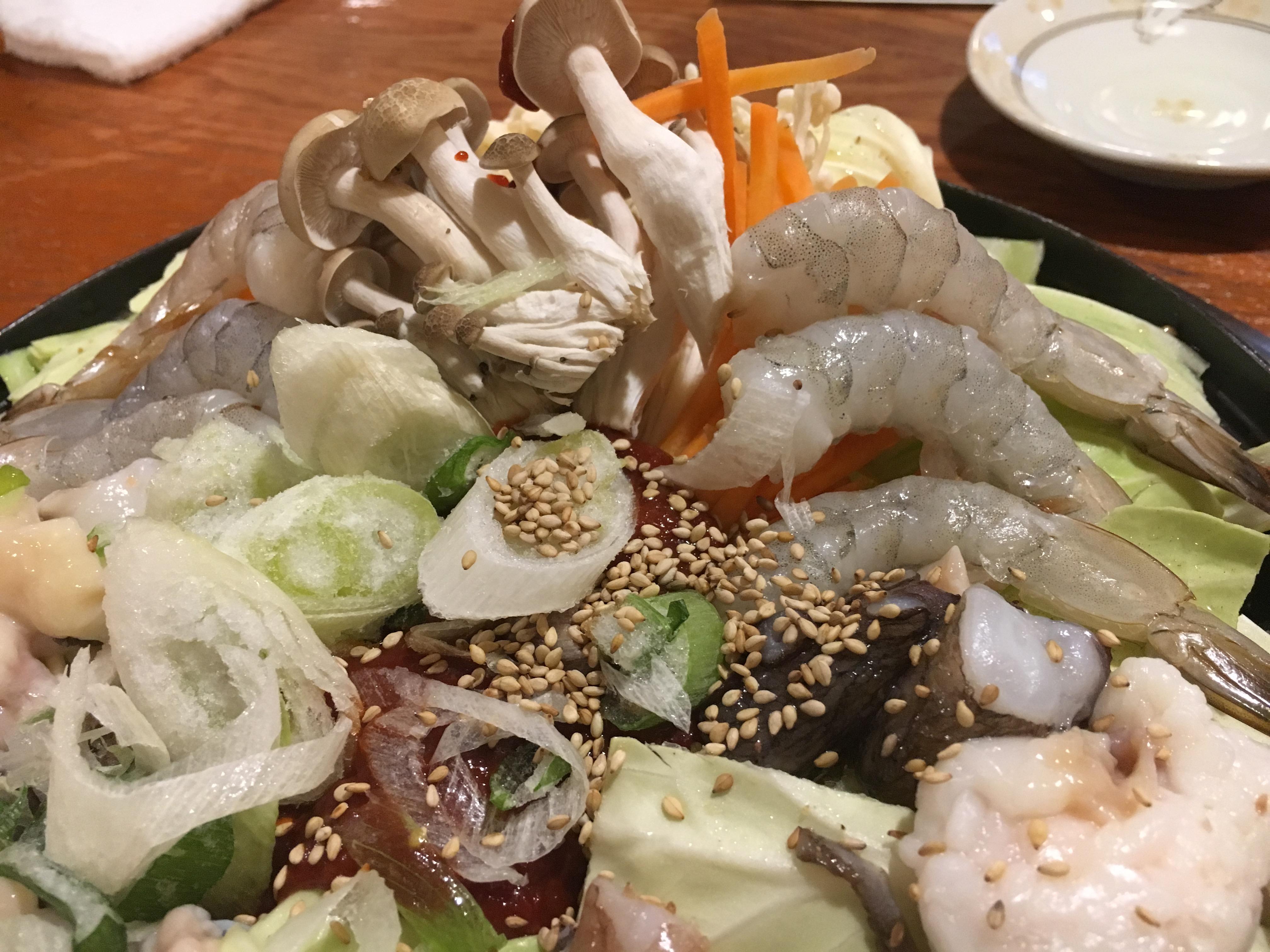 【福亭】熊本・大江にある魚介たっぷり辛口鍋が食べられる韓国料理店