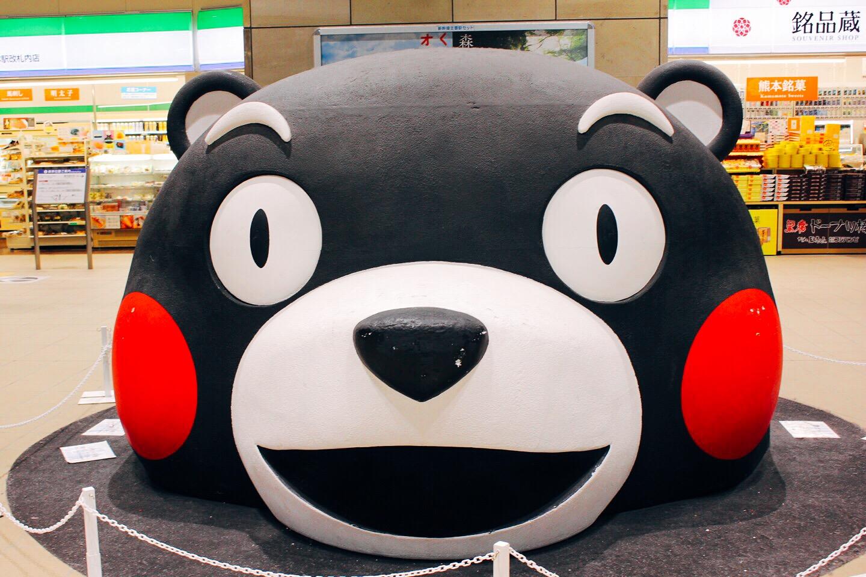 【熊本駅ビル】2021年春、開業予定!今の熊本駅で「くまモン探し」