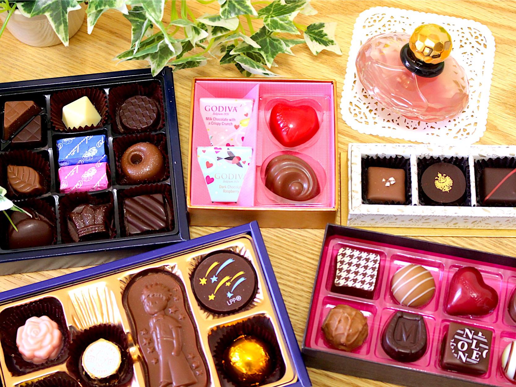 【バレンタイン チョコ】人気チョコブランド5店舗@買ってみたよ