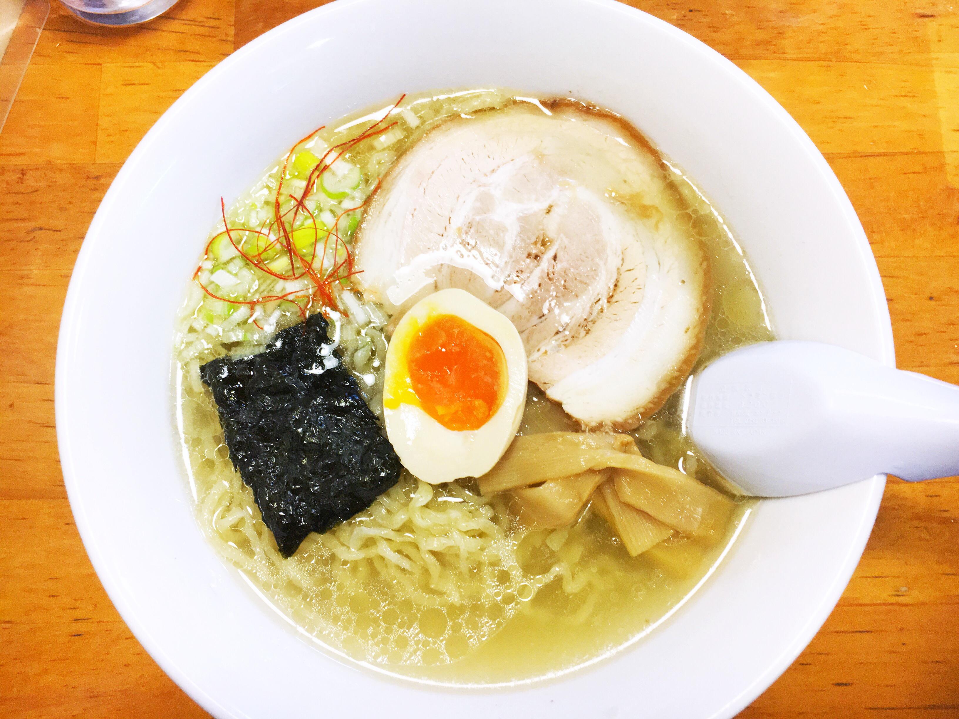 【マルイチ食堂 】熊本下通で食べれる「天草大王」を使ったあっさりなのに濃厚な塩ラーメン