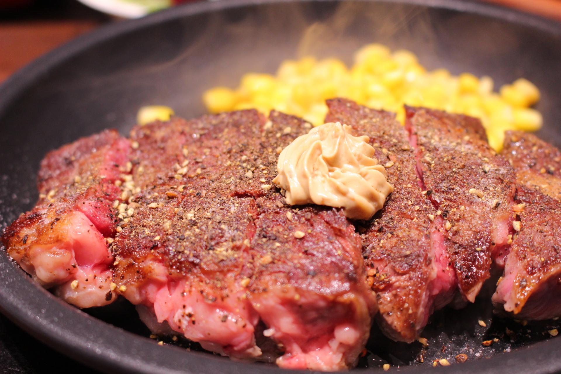 【いきなりステーキ】下通りでランチ!おすすめ300g!がっつり食べた